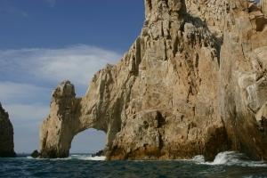 Natural Rock Arch at Cabo San Lucas, Mexico